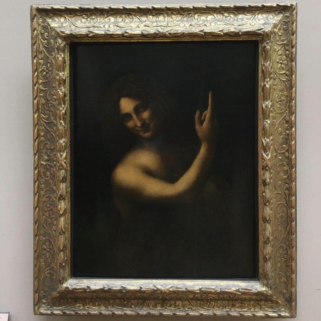 Leonardo Da Vinci John Baptist Louvre